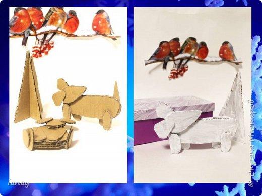 Мастер-класс идея простого Новогоднего декора. фото 5