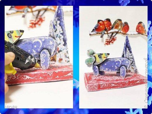 Мастер-класс идея простого Новогоднего декора. фото 10