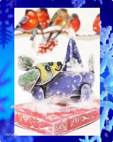 Мастер-класс идея простого Новогоднего декора. фото 11
