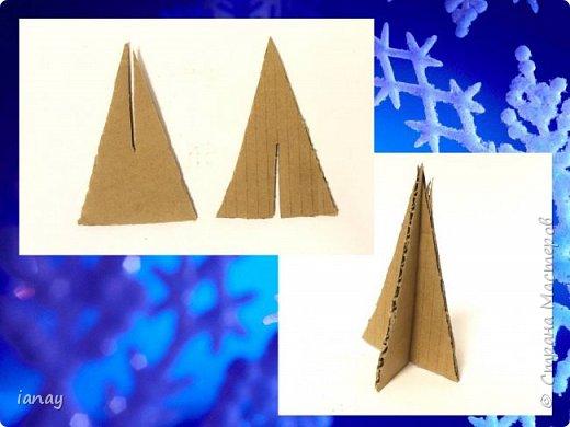 Мастер-класс идея простого Новогоднего декора. фото 4