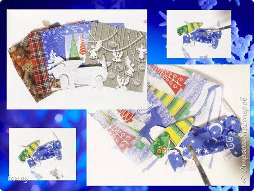 Мастер-класс идея простого Новогоднего декора. фото 6