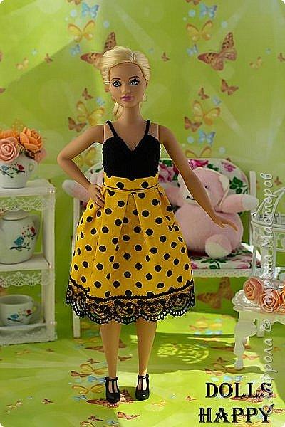 Поселилась  у меня девушка - невероятно шикарная! Барби curvi (пышные формы). Представляю вашему вниманию мою Эмму! И ее скромный гардероб) фото 24