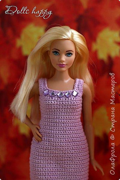 Поселилась  у меня девушка - невероятно шикарная! Барби curvi (пышные формы). Представляю вашему вниманию мою Эмму! И ее скромный гардероб) фото 6