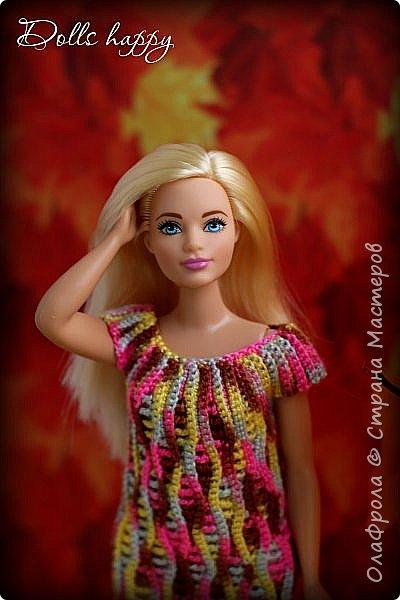Поселилась  у меня девушка - невероятно шикарная! Барби curvi (пышные формы). Представляю вашему вниманию мою Эмму! И ее скромный гардероб) фото 11