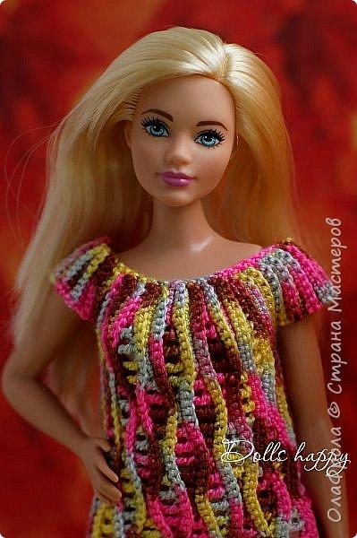 Поселилась  у меня девушка - невероятно шикарная! Барби curvi (пышные формы). Представляю вашему вниманию мою Эмму! И ее скромный гардероб) фото 12