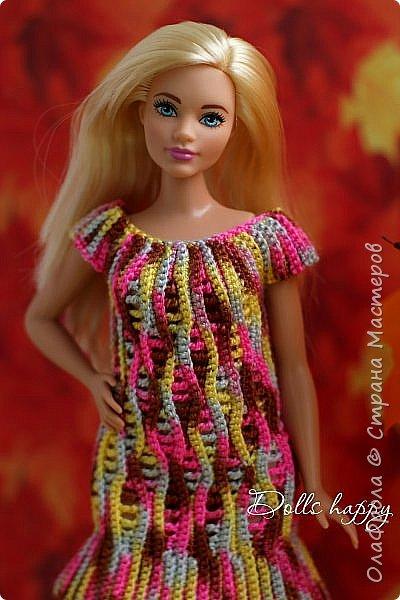Поселилась  у меня девушка - невероятно шикарная! Барби curvi (пышные формы). Представляю вашему вниманию мою Эмму! И ее скромный гардероб) фото 13