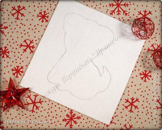 Наверное, для меня это стало уже традицией. С приближением новогодних праздников закатываю рукава и пеку пряники. Вернее, не пеку, а шью:)  Сегодня я хочу поделиться с вами изготовлением милой пряничной собачки.  фото 4