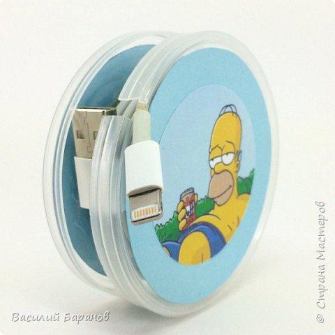 Катушка для хранения провода «Симпсоны»
