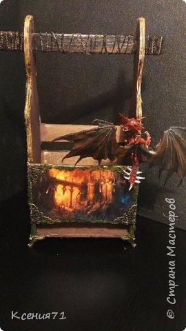 "Бутылочница ""замок дракона"" фото 1"