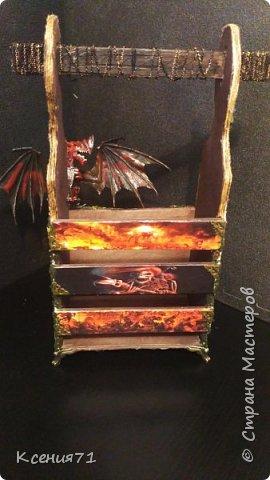"Бутылочница ""замок дракона"" фото 2"