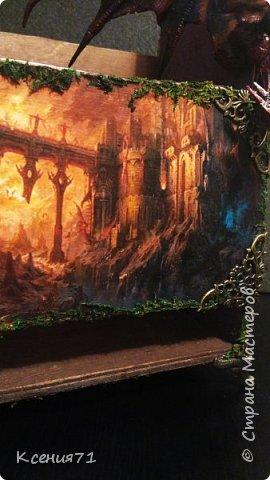 "Бутылочница ""замок дракона"" фото 9"