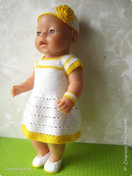 Здравствуйте дорогие мастерицы! Сегодня я пришла показать обновки для куклы паола Карла.  Вязала по МК Оксаны Лифенко. Ещё не постирала, поэтому петельки на фотографии рыхлые...  вяжу всю свою сознательную жизнь, но такие вещички для кукол..., учусь у Оксаны с 2015 года. Прекрасная Мастерица, я рада что повстречала её на моём творческом пути. фото 13