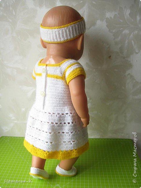 Здравствуйте дорогие мастерицы! Сегодня я пришла показать обновки для куклы паола Карла.  Вязала по МК Оксаны Лифенко. Ещё не постирала, поэтому петельки на фотографии рыхлые...  вяжу всю свою сознательную жизнь, но такие вещички для кукол..., учусь у Оксаны с 2015 года. Прекрасная Мастерица, я рада что повстречала её на моём творческом пути. фото 15
