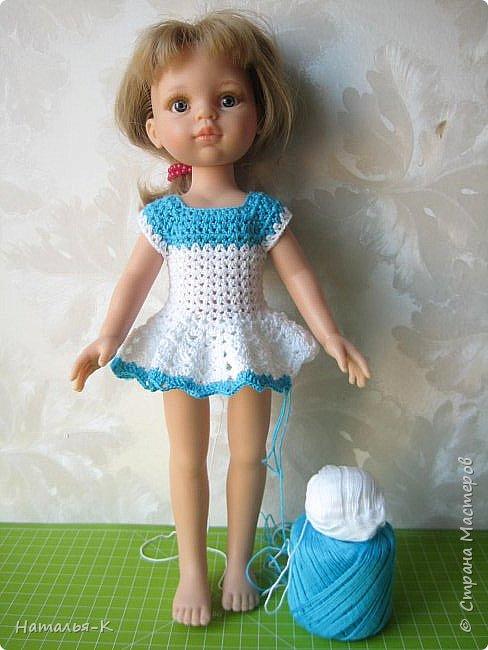 Здравствуйте дорогие мастерицы! Сегодня я пришла показать обновки для куклы паола Карла.  Вязала по МК Оксаны Лифенко. Ещё не постирала, поэтому петельки на фотографии рыхлые...  вяжу всю свою сознательную жизнь, но такие вещички для кукол..., учусь у Оксаны с 2015 года. Прекрасная Мастерица, я рада что повстречала её на моём творческом пути. фото 11
