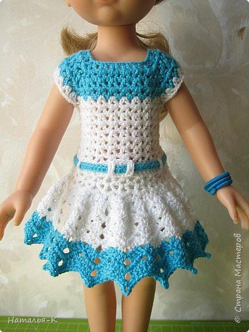 Здравствуйте дорогие мастерицы! Сегодня я пришла показать обновки для куклы паола Карла.  Вязала по МК Оксаны Лифенко. Ещё не постирала, поэтому петельки на фотографии рыхлые...  вяжу всю свою сознательную жизнь, но такие вещички для кукол..., учусь у Оксаны с 2015 года. Прекрасная Мастерица, я рада что повстречала её на моём творческом пути. фото 7