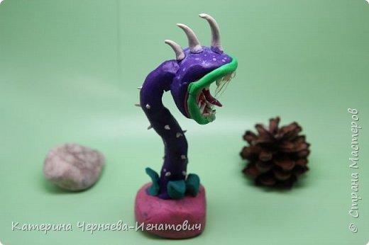 """Сегодня, Ермак закончил свою коллекцию пластилиновых растений из игры """"Растения против зомби"""". Первым в этом списке Кактус. фото 17"""
