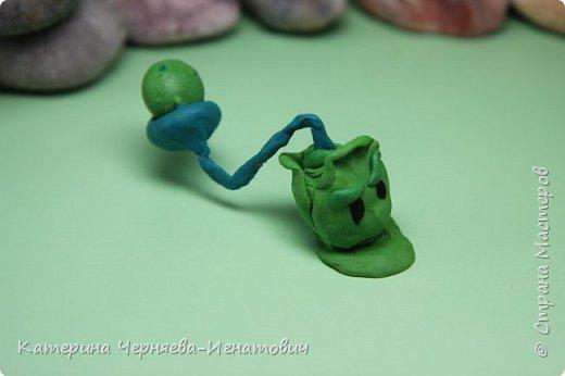 """Сегодня, Ермак закончил свою коллекцию пластилиновых растений из игры """"Растения против зомби"""". Первым в этом списке Кактус. фото 9"""