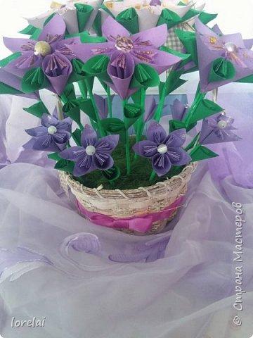 Cos cu flori фото 2