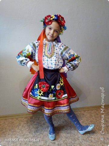 Давно мечтала сшить украинский костюм и вот мечта сбылась. фото 1