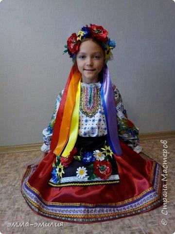 Давно мечтала сшить украинский костюм и вот мечта сбылась. фото 2