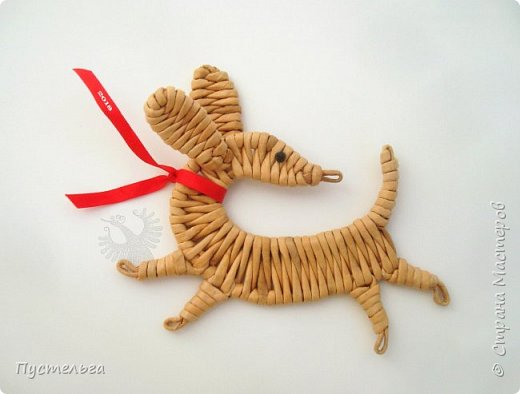 Пёс Бублик к Новому году для моих юных и взрослых друзей!  фото 1