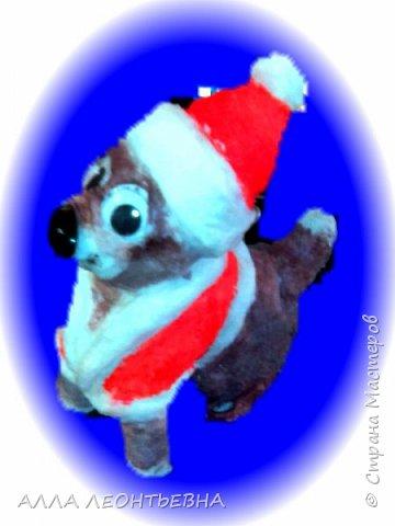 Время есть---делаем игрушки на елку! а как же без символа года?! фото 3
