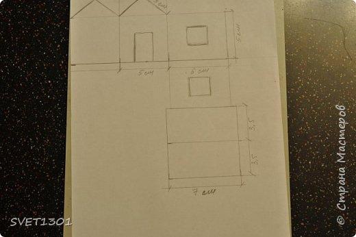 Вот такой зимний домик для интерьерной композиции я предлагаю вам сделать. фото 3