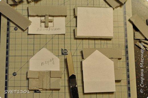 Вот такой зимний домик для интерьерной композиции я предлагаю вам сделать. фото 6
