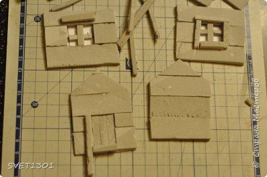 Вот такой зимний домик для интерьерной композиции я предлагаю вам сделать. фото 7