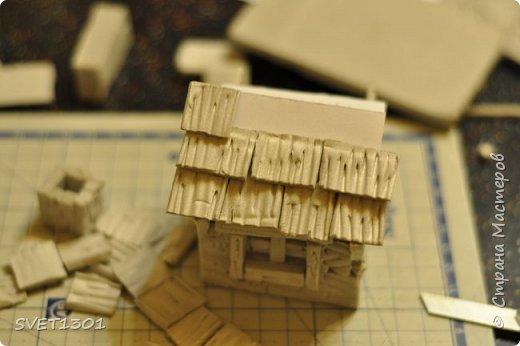 Вот такой зимний домик для интерьерной композиции я предлагаю вам сделать. фото 14
