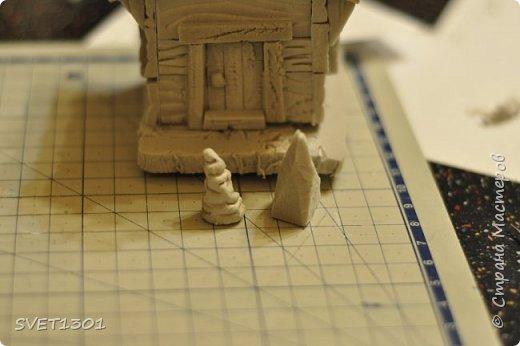 Вот такой зимний домик для интерьерной композиции я предлагаю вам сделать. фото 17