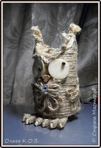 Джутовые совы фото 30