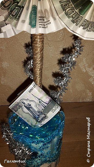 Всем жителям прекрасной страны доброго дня!!! От денежных деревьев остались заготовки... и в ожидании новогодних праздников решила сделать денежные елочки!!!  фото 3