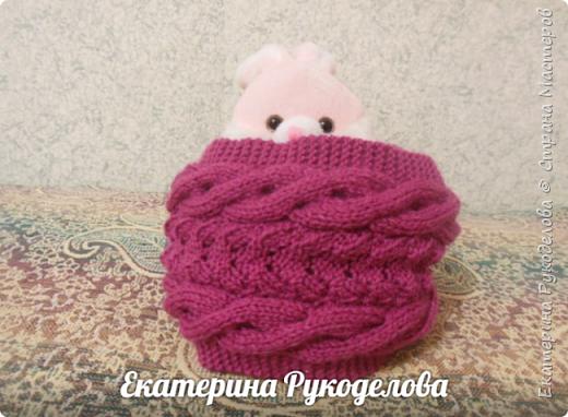 Манишка на мальчика 2-3 лет. Нитки Alize baby wool, спицы №2,крючок №3  фото 11