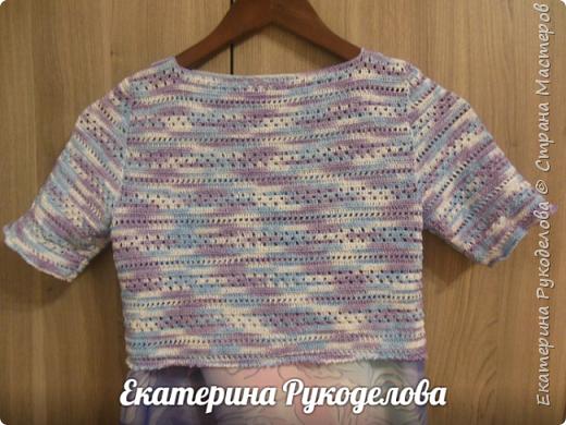 Манишка на мальчика 2-3 лет. Нитки Alize baby wool, спицы №2,крючок №3  фото 15