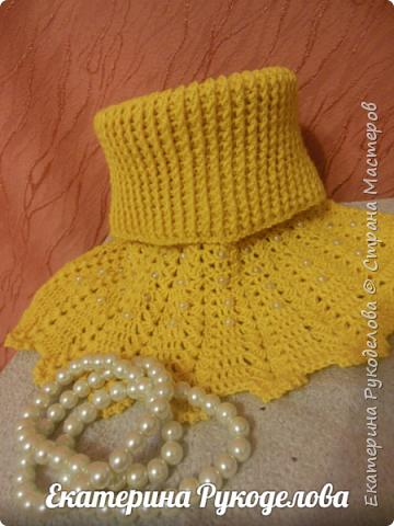 Манишка на мальчика 2-3 лет. Нитки Alize baby wool, спицы №2,крючок №3  фото 18