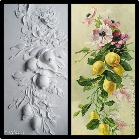 Барельеф создан на основе картины Катарины Кляйн. фото 1