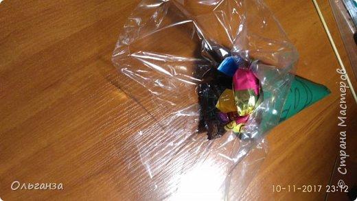 У дочки завтра день рождения, в школу как всегда приносим сладости. Увидела в интернете вот такие поделки и мне очень они понравились.  Вот это чудо было сделано за два вечера, 30 штук. фото 6