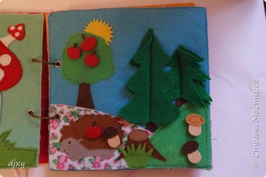 Книжка сделана в подарок на Годик моей племяннице. фото 5