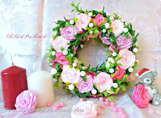 """""""Новогодние Венки""""для украшения прихожих,дверей и стен! фото 2"""