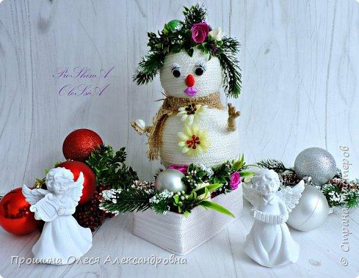 Всем Привет!Вот и приближается к нам Новый Год!А у меня появился вот такие дружочки-Снеговики!Станут великолепным подарком для украшения праздничного стола и комнаты,или поставить под елочку!Спешите за подарками для близких и Родных! фото 3