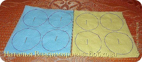 Мастер-класс  по изготовлению панно  «Цветок»   из бумажных салфеток.  фото 13