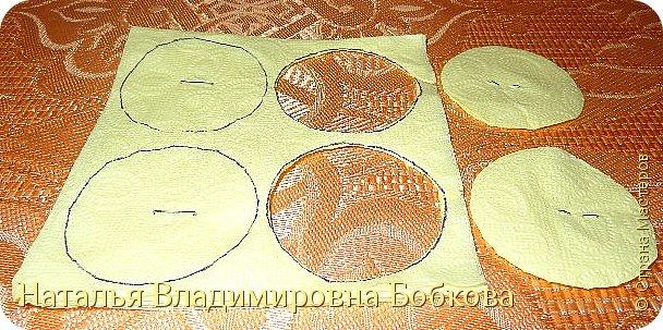 Мастер-класс  по изготовлению панно  «Цветок»   из бумажных салфеток.  фото 15