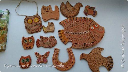 Мои первые работы по керамике!