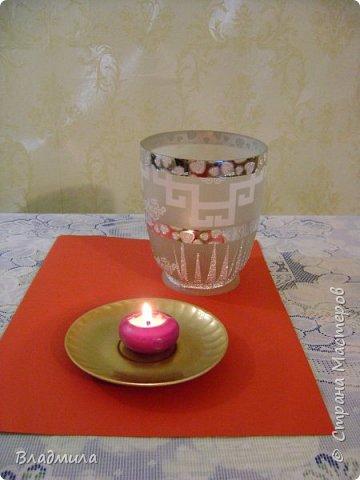 Вот такой светильник можно приготовить для праздничного ужина. фото 4