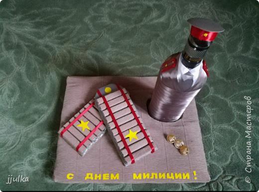 Оформление бутылки фото 2
