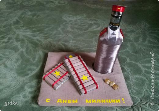 Оформление бутылки фото 3