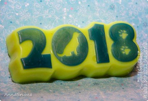 Новогоднее мыло фото 7