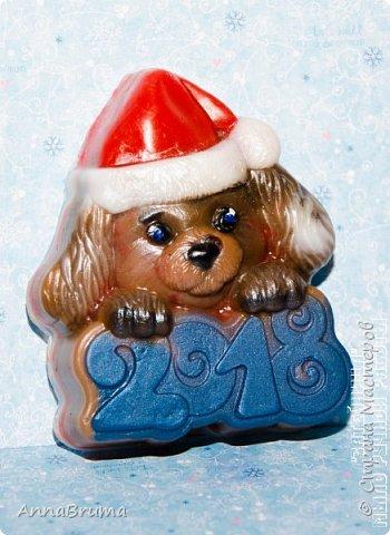 Новогоднее мыло фото 16