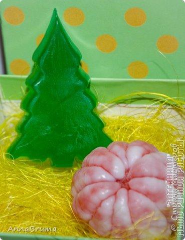 Новогоднее мыло фото 32